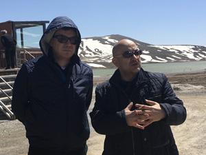 Özbekistan Turizm Geliştirme Bakanı Aziz Abdulhakimov, Erciyes'e yapılan yatırımları yerinde inceledi