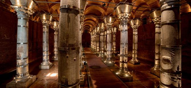 Bizans İmparatoru II. Theodosius döneminde inşa edilen Şerefiye Sarnıcı açılıyor