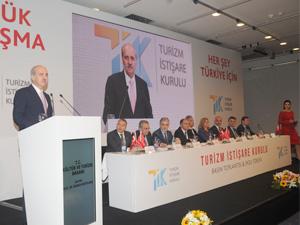 Turizm sektörünün önde gelen STK'ları (TİK)Turizm İstişare Kurulu protokolünü Lütfi Kırdar Kongre Merkezi'nde imzaladı