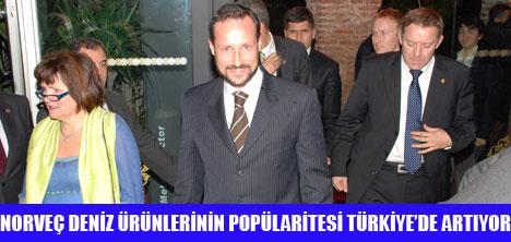 NORVEÇ PRENSİ HAAKON ESMA SULTAN'DA
