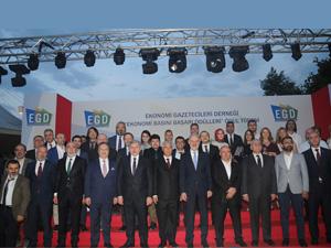 EGD Ekonomi Gazetecileri Derneği, Ekonomi Başarı Ödüllerini Sahiplerine verdi