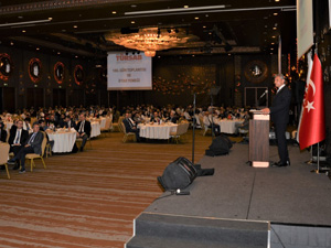 TÜRSAB Ankara'da üst düzey bürokratların ve 500 kişinin katıldığı bir toplantı düzenledi