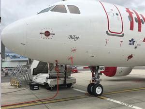 "Pegasus filosuna TC-NBU kuyruk tescilli ""Bilge"" isimli uçağını dahil etti"