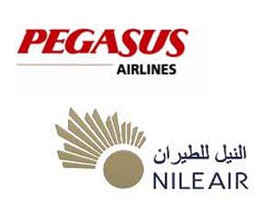 Pegasus ve Mısır'ın en büyük özel havayolu şirketi Nile Air, ortak uçuş anlaşması imzaladı