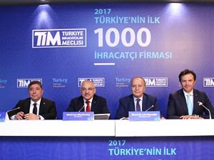 TİM Başkanı Büyükekşi, 2017 yılının ihracat şampiyonlarını açıkladı