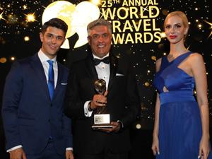 'World Travel Awards'ta 5 yılda 3'üncü defa 'Türkiye'nin En İyi İş Oteli' seçildi