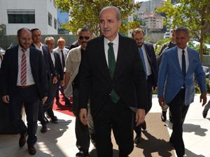 Kültür ve Turizm Bakanı Numan Kurtulmuş Genel Merkezimizi Ziyaret Etti