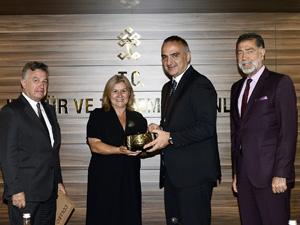 TTYD Yönetim Kurulu, Yeni Kültür ve Turizm Bakanı Mehmet Ersoy'u ziyaret etti
