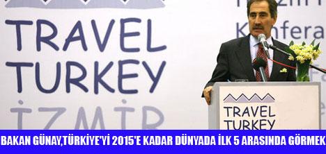 TRAVEL TURKEY İZMİR FUARI AÇILDI