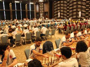 Türkiye'de Satranç Heyecanı Selçuklu Kongre Merkezi'nde Yaşandı