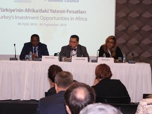 """""""Türkiye'nin Afrika'daki Yatırım Fırsatları Paneli"""" İstanbul'da düzenlendi"""