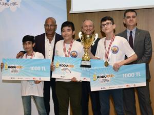 Minik Eller KODU CUP Türkiye 2018'de Harikalar yarattı