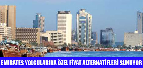 EMİRATES'TEN ÖZEL FİYAT ALTERNATİFİ