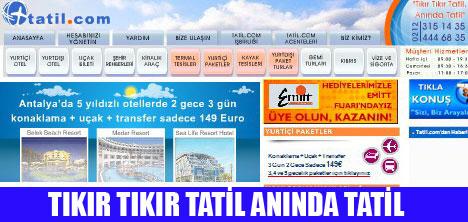 TATİL.COM SEKTÖRÜN LİDERİ