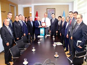 Kültür ve Turizm Bakanı Mehmet Nuri Ersoy, Bursa turizm heyetiyle İstanbul'da bir araya geldi