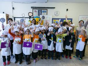 Sağlıklı Adımlar okullarında Dünya Şefler Günü kutlaması