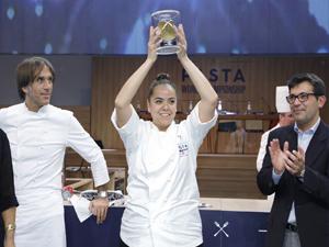 Dünya Makarna Şampiyonası'nın galibi ABD'li şef Carolina Diaz oldu