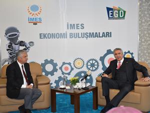 İMES Ekonomi Buluşmaları toplantısında, sanayicinin yaşadığı sorunlar masaya yatırıldı