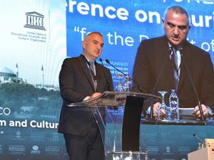 3. Dünya Turizm ve Kültür Konferansı, İstanbul Lütfi Kırdar Kongre ve Sergi Sarayı'nda düzenlendi