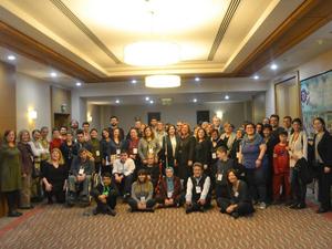 UNICEF Türkiye'nin destekleriyle Engelli Çocuk Hakları Ağı Konferansıİstanbul'da gerçekleşti