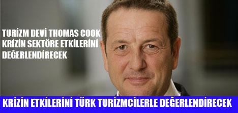 THOMAS COOK TURİZMCİLERLE BULUŞUYOR