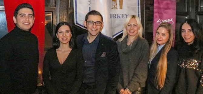Young Skal Antalya üyeleri 2019 yılının ilk happy hour etkinliğini gerçekleştirdi