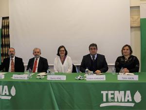 TEMA Vakfı, İklim Değişikliği ve Tarım Paneli Çanakkale'de gerçekleştirdi