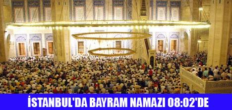 TÜRKİYE'DE İL İL BAYRAM NAMAZI