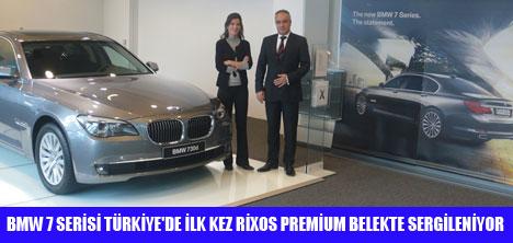 BMW 7 BAYRAM SÜRESİNCE RİXOS'TA