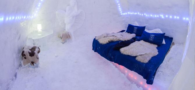 Buz Otellerle Tanışın! Dünya'nın En Etkileyici 5 Buz Oteli