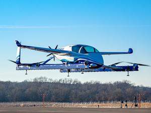 Boeing'in otonom hava aracı dikey iniş kalkış yapabilen elektrikli araç, 81 km menzile kadar ulaşabiliyor