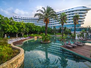 Concorde De Luxe Resort, 'Güvenli Otel' ve 'Başarı Ödülü'nün sahibi oldu
