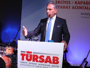 Bursa ve İzmir'de düzenlenen iş geliştirme gezilerinin 3'üncü durağı Antalya oldu