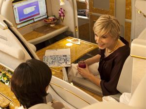 Emirates First Class Ürün ve Hizmetleri sizi Evinizde Hissettirecek