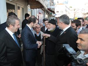 Hazine ve Maliye Bakanı Berat Albayrak, seçim çalışmaları kapsamında Sarıyer'i ziyaret etti