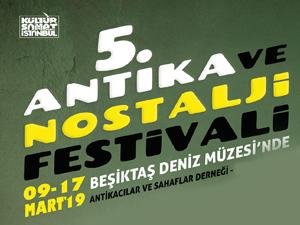5. Antika ve Nostalji Festivali 9 Mart'ta Deniz Müzesi'nde Başlıyor