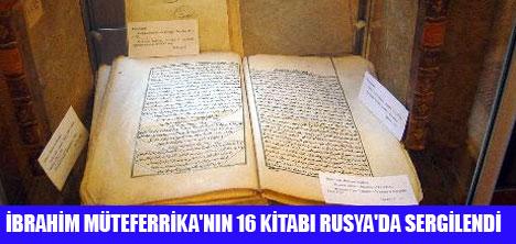 17 KİTABIN 16'SI RUSYADA ÇIKTI