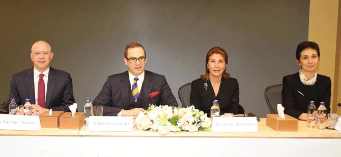 Koç Holding'in 55. Olağan Genel Kurulu, Koç Ailesi, Koç Holding üst yönetimi ve hissedarların katılımıyla gerçekleşti