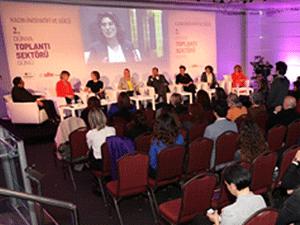 Dünya Toplantı Sektörü Günü'nünde Kadın İnisiyatifi ve Gücü gündeme getirildi
