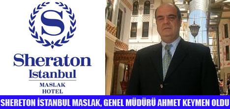 SHERETON İSTANBUL'A YENİ GENEL MÜDÜR
