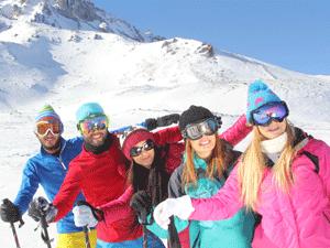 Erciyes Kayak Merkezi 2019 kayak sezonu resmen kapanmadan, 2020 sezonunu açtı