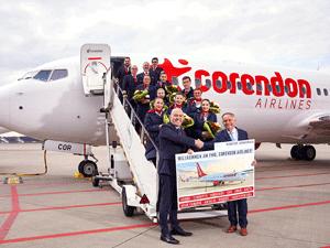 İlk uçuşunu 12 Nisan 2005'de gerçekleştiren Corendon Airlines, 15. yılına yine bir ilk uçuş ile girdi