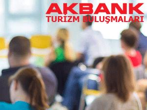 Akbank Turizm Buluşmaları'nın ilki 17 Nisan'da Bodrum'da başlıyor