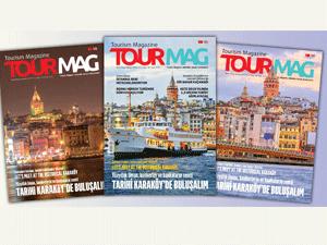 TOURMAG Turizm Dergisi birbirinden ilginç haberlerle yayınlandı