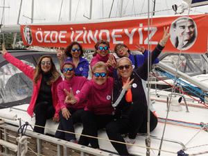Tutkumm teknesinin ekibi deniz tutkunu 3 kadın, yeni ve anlamlı bir maceraya doğru yola çıkıyorlar