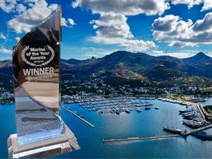 """Yalıkavak Marina """"2018-2019 Dünyanın En İyi Süper Yat Marinası"""" Ödülünü Teslim Aldı"""