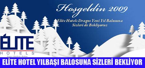 ELİTE HOTEL'DE YILBAŞI