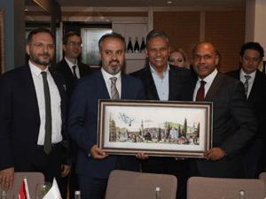 TÜRSAB, yabancı misyon şeflerine yönelik ikinci tanıtım gezisini Bursa'da gerçekleştirdi