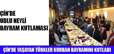 PEKİN'DE KURBAN BAYRAMI KUTLANDI
