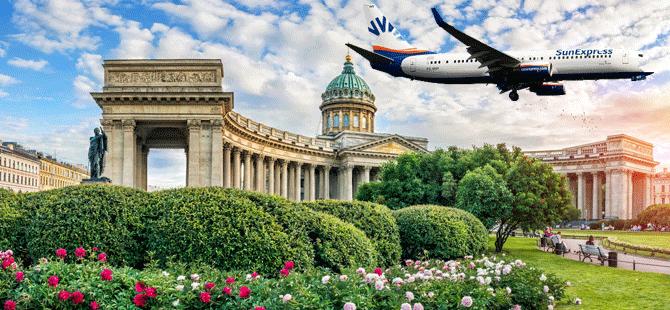 SunExpress, 30 Mayıs tarihi itibariyle İzmir – St. Petersburg uçuşlarına başlıyor